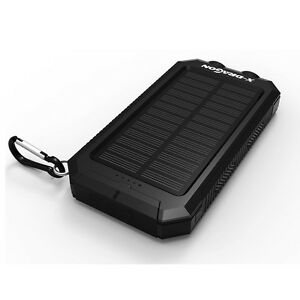300000mAh Power Bank Solar Externer Ladegerät Portable Charger Externer Tragbare