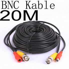 CCTV BNC Cable 20meter BNC Cable High Quality Full HD High Resolution