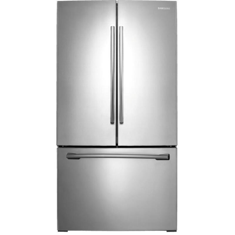 "Samsung RF26HFENDSR 36"" Stainless French Door Drawer Refrigerator 26cuft NEW DD"