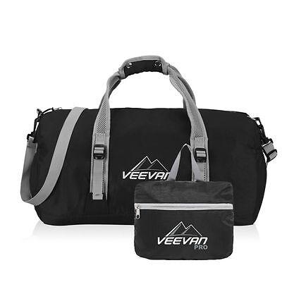 Men Women Sport Training Duffle Gym Bag Travel Shoulder Bag Carry Tote Foldable