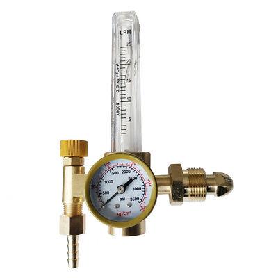 Us Argon Flow Meter Regulator Weld Regulator Gauge Gas Welder Regulator 3500 Psi
