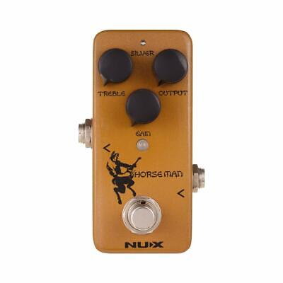 NUX NOD-1 Guitar Overdrive Clean Boost Effect Pedal withTrue Bypass Horseman AMP