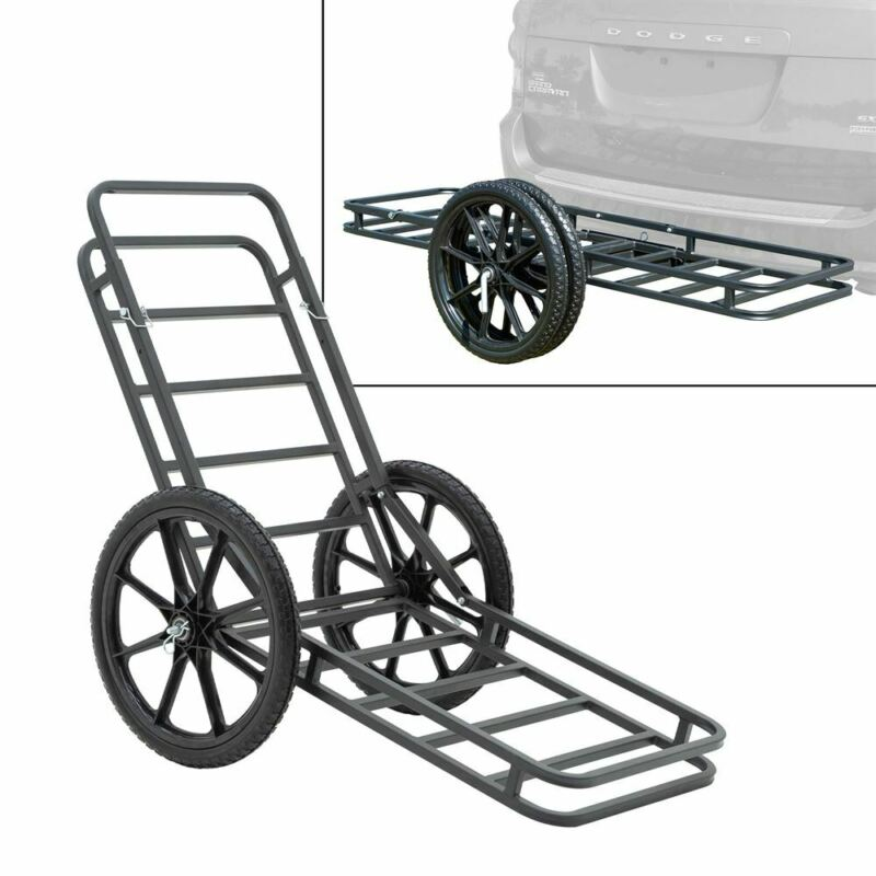 Elevate Outdoor Hitch-Mounted Cargo Carrier and Game Cart
