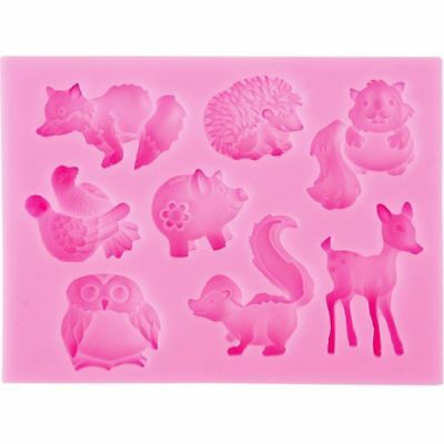 1PCS Decorating Head Cartoon Fondant Animal Silicone Molds Baking Tools Cake for sale  Shipping to Canada