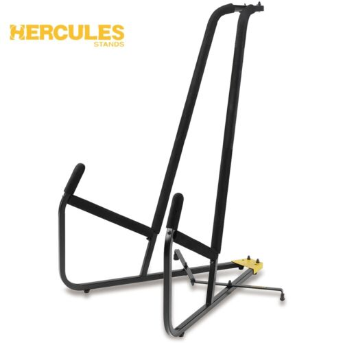 NEW Hercules DS590B Durable Steel Construction Double Bass Stand