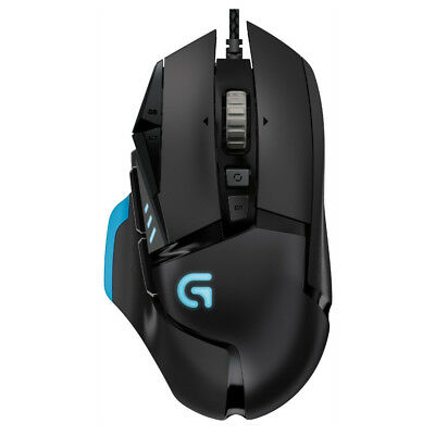 Logitech G502 Proteus Core Tunable Gaming Mouse with Weight and Balance Tuning  for sale  Shipping to Canada