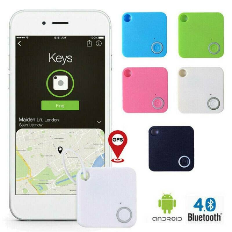 Mini Smart Bluetooth Tracker Key Pet Finder Phone Mate GPS L