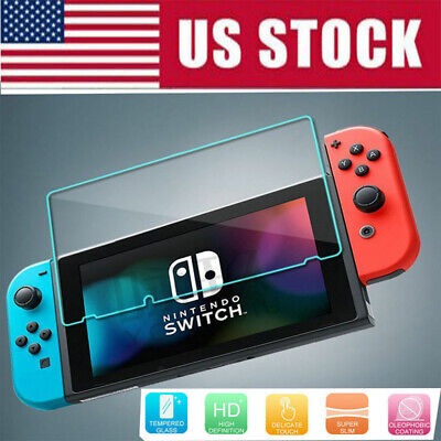 Nintendo Switch Premium Tempered Ultra Clear Glass Screen Protector US Stock Lot