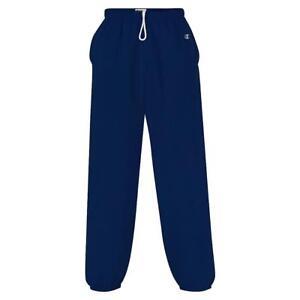 0fae2e828067 2 Champion Cotton Max Fleece Pants P210 S Team Navy