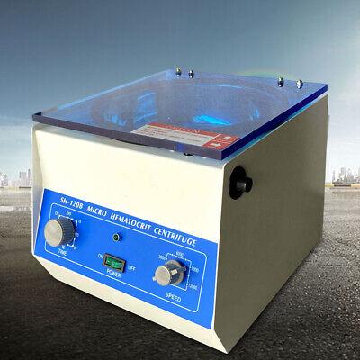110v 60hz High Speed Microhematocrit Centrifuge Electric Lab Centrifuge Us