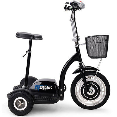 affordable 3 wheeled battery operated 350w electric personal mobility scooter