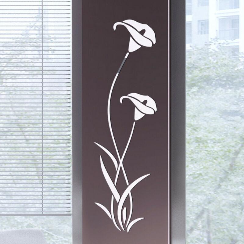3D Flower Shape Acrylic Wall Stickers