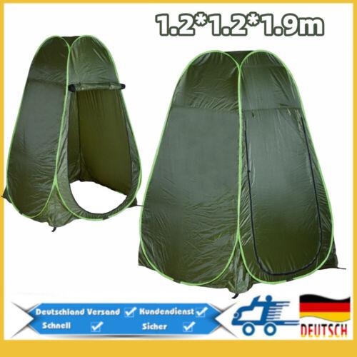 Duschzelt Toilettenzelt Umkleidezelt Lagerzelt Angelzelt Pop up Zelt Tent Popup
