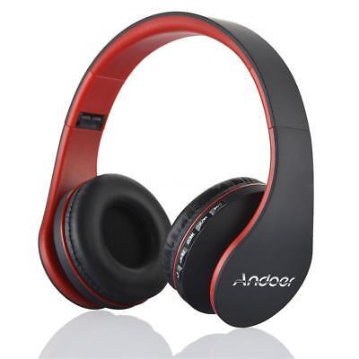 Faltbar Bluetooth Wireless Stereo Kopfhörer On-Ear Headset mit Mikrofon FM TF SD Bluetooth-wireless-stereo
