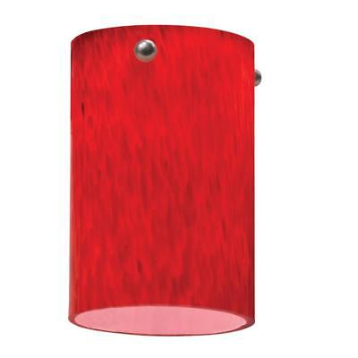 Lithonia Lighting Apple Red Short Cylinder Shade LED Mini Pendant (Apple Mini Pendant)