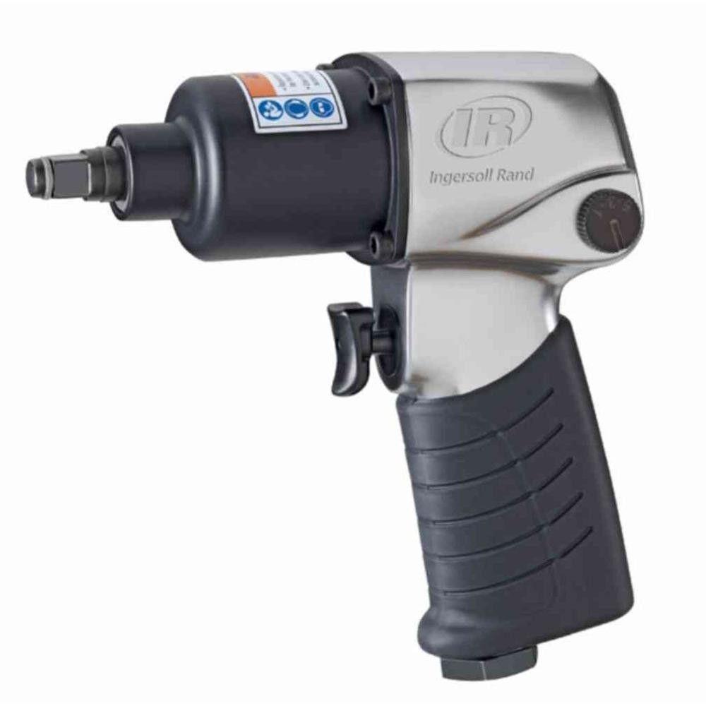 Air Impact Wrench Variable Speed Trigger Ergonomic Grip Handle Exhaust Aluminum