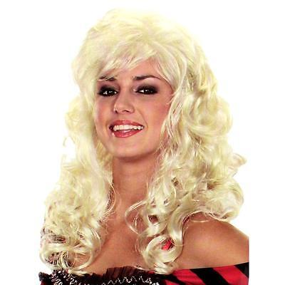 INCOGNITO NEW Womens SHOWGIRL Long Platinum Halloween WIG PARTY COSTUME WIG - Long Platinum Blonde Halloween Wig