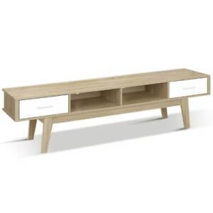 Artiss TV Stand Entertainment Unit Cabinet Storage Scandinavian 180cm Oak