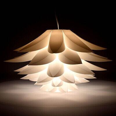 DIY Modern Lotus IQ Puzzle Jigsaw Pendant Light Shade Ceiling Lampshade 50CM