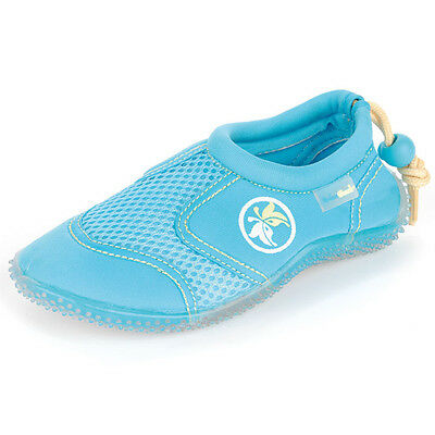 Kids Urban Beach Aqua Shoes Water Unisex Childrens Surf Swimming Light Blue