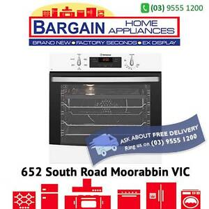 WESTINGHOUSE WVE615W 60CM ELECTRIC MULTIFUNCTION SINGLE OVEN WHIT Moorabbin Kingston Area Preview