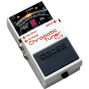 BOSS TU3 Chromatic Compact Guitar Tuner Floor Pedal - UK Stock