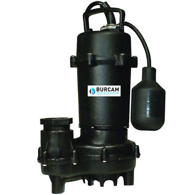 Burcam Pumps 12 Hp Cast Iron Submersible Effluent Pump