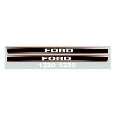F1220 Hood Decal Set Fits Ford Fits New Holland Compact Tractor 1220
