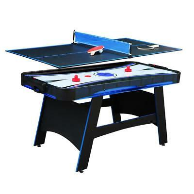 5 Ft Bandit Air Hockey Table Tennis Top Multi Game Indoor Family Part Play Kids