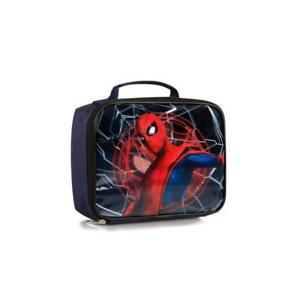 Marvel Spiderman Econo Kids Lunch Bag - 8 Inch Lunch Bag for Boys