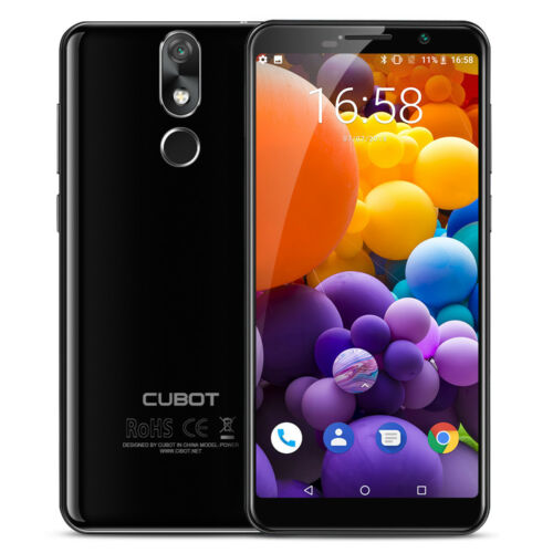"""Android Phone - 5.99"""" CUBOT Power 18:9 FHD+ 4G Smartphone Android 8.1 6GB+128GB 6000mAh Unlocked"""