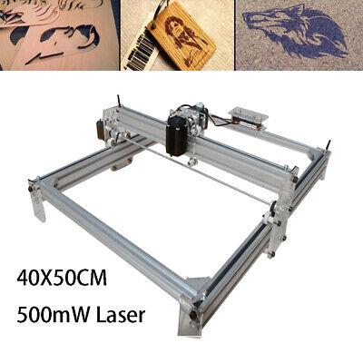 Diy 500mw Mini Laser Engraving Machine Kit Wood Cutter Desktop 4050cm Dc12v Ups