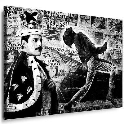 Küche Queen (Bild Leinwand Freddie Mercury Queen a645 Bilder mit Keilrahme Wandbild Poster)