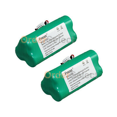2X Battery for Zebra/Motorola Symbol LS4278 DS6878 82-67705-