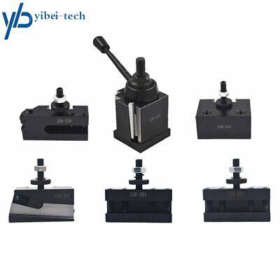 Bxa 250-222 Wedge Type Tool Post Holder Set For Cnc Lathe 10-15