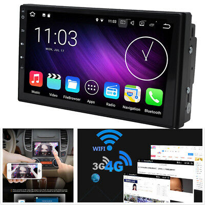 Android 60 Double 2Din Car Stereo Radio GPS Nav Wifi 3G 4G DAB Mirror Link OBD