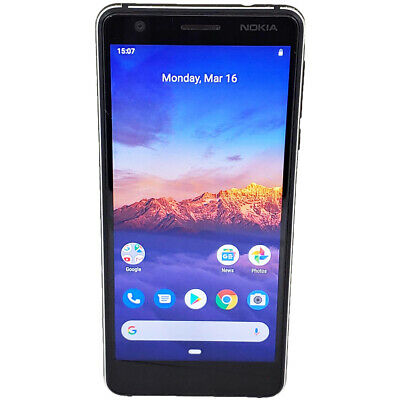 Nokia 3.1 TA-1049 Android One 16GB GSM Factory Unlocked Smartphone Works Perfect