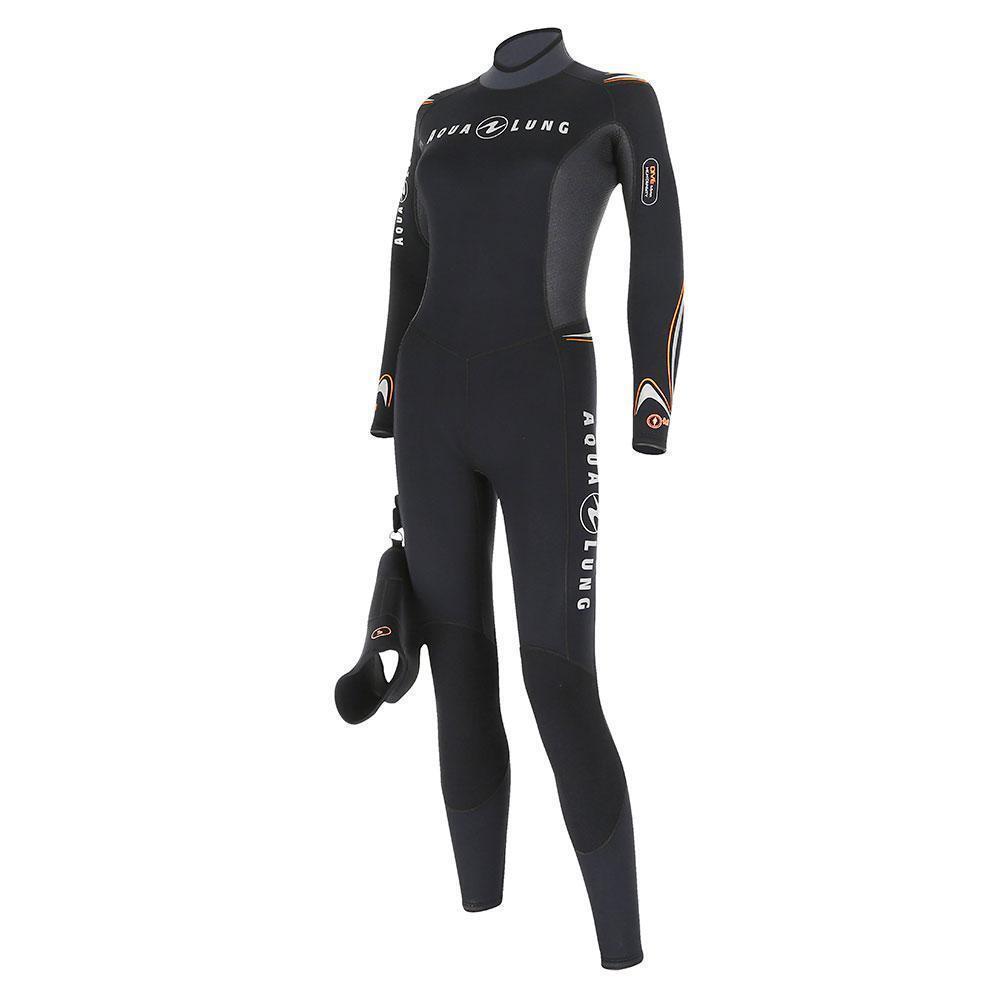 Aqualung Dive Jumpsuit Neopren Tauchanzug 3 mm ohne Kopfhaube Sonderpreis