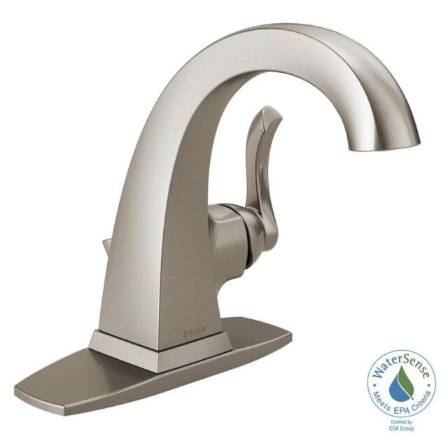 Delta Everly 4 In. Centerset Single-handle Bathroom Faucet in ...