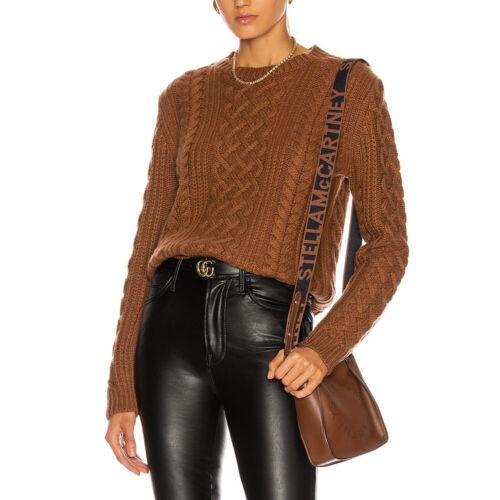 Nili Lotan Jodelle Cable Knit Rib Knit Cashmere Sweater Jumper $1239 2 colours
