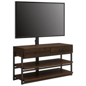 "Whalen BBCTGXLD-4  3-in-1 TV Stand for TVs up to 60"" - Dark Brown/Gunmetal (New other)***READ***"