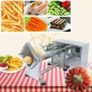 110V Automatic Electric Potato Tower Vegetable French Fries Slicer Cutter - BRAND NEW - FREE SHIPPING
