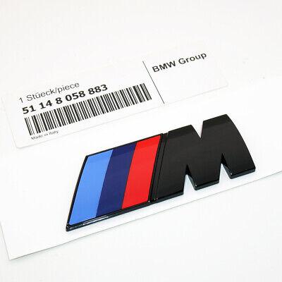 Gloss Black M Series Emblem Badge Car Trunk Refit Decoration Accessories ABS 883