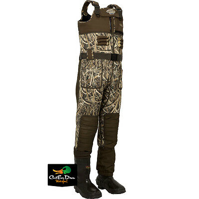 Drake Eqwader Lst Waders Blades Camo 5mm Regular