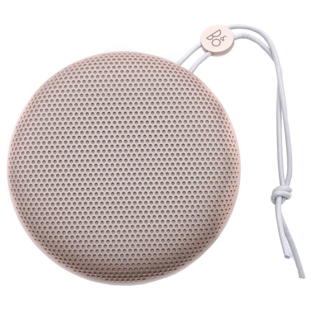 Bang Olufsen Play A1 sand stone Bluetooth Lautsprecher tragbar Lederband Stereo