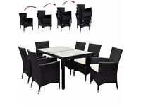 **FREE UK DELIVERY** High Quality German 6 Seater Garden Out Set with Stackable Chairs - BRAND NEW!