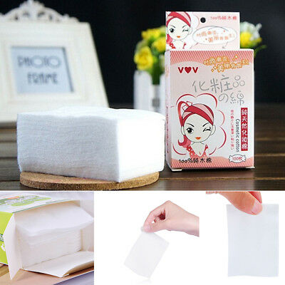 100PC Soft Cotton Pads Cosmetic Makeup Facial Remover Facial Cleansing Tools