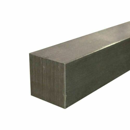 """A36 Steel Square Stock Bar 1/2"""" x 1/2"""" x 12"""" long"""