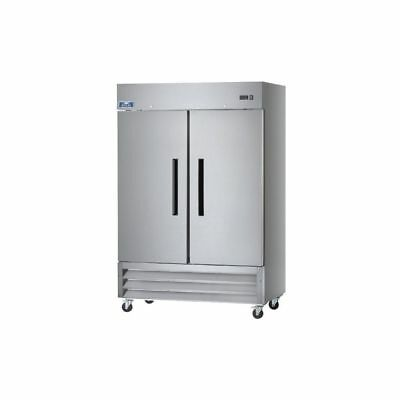 Arctic Air Af49 2 Door Bottom Mount Reach-in Freezer 49 Cu. Ft.