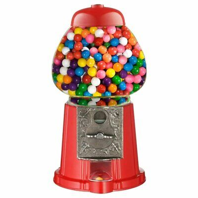 New Bubble Gum Gumball Dispenser Toy Machine 90g Bag Included Coin Operated Bank